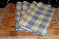 mitered corner napkins 013