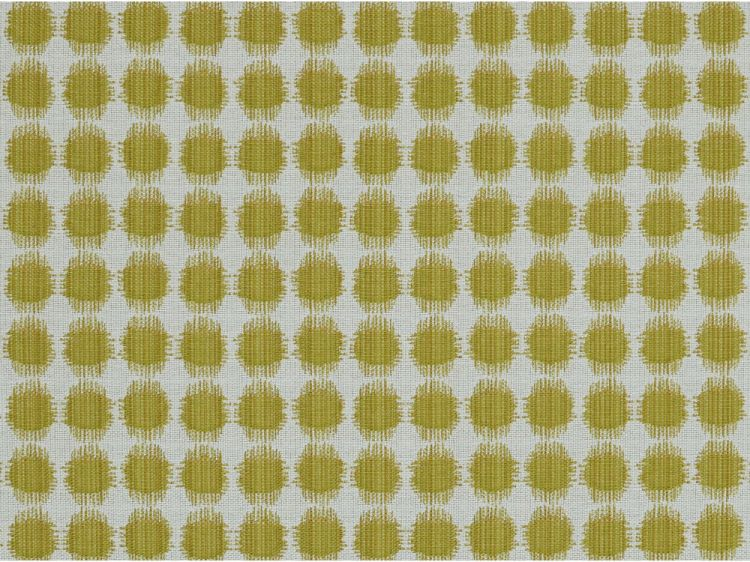Drapery Upholstery Fabric 100/% Cotton Embroidered Swirling Dots on Beige