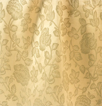 Floral Vine Antique Gold Best Fabric Store Online