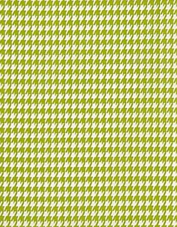Small Houndstooth Chartreuse / White Fabric: Best Fabric Store ...