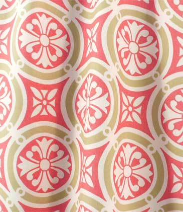 Remnant-Minton Coral Fabric: Best Fabric Store
