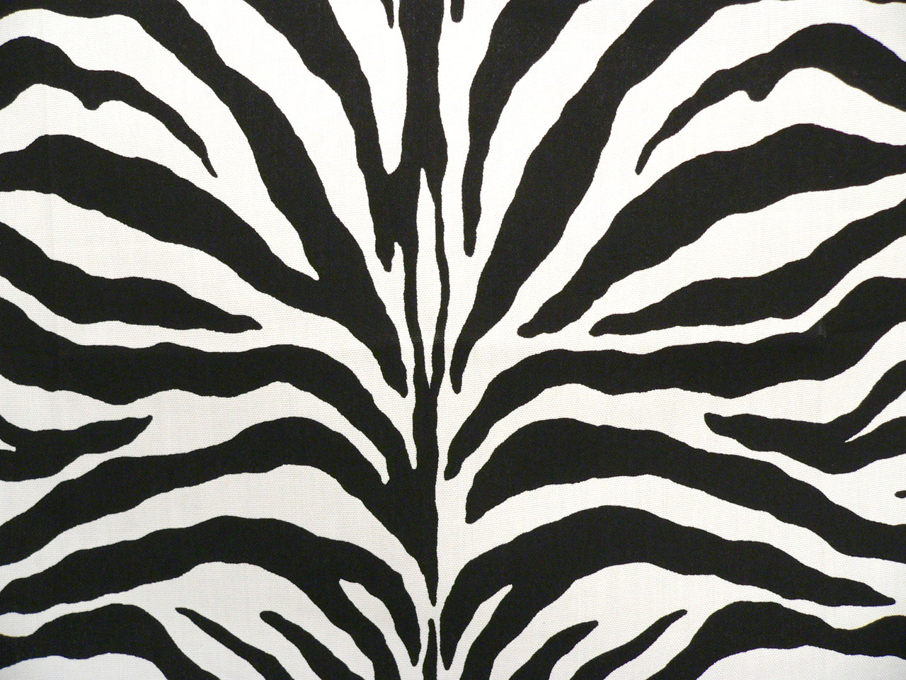 Zebra Black Indoor Outdoor Fabric Best Fabric Store