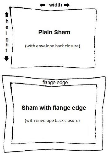 custom pillow sham