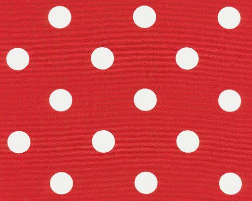 Polka Dot Lipstick White Fabric Best Fabric Store