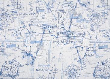 Schooner Nautical Online Discount Drapery Fabrics And