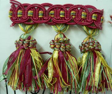 Ribbon Tassel Fringe Fiesta Online Discount Drapery