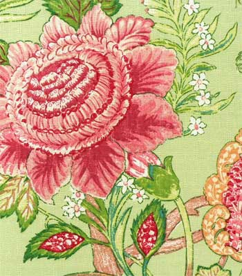 Adriana Apple Fabric