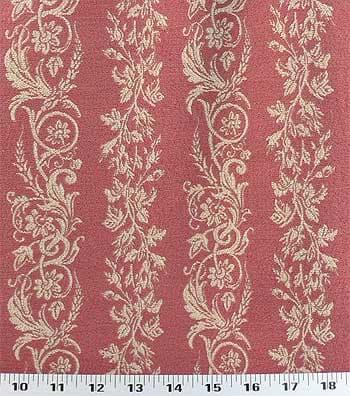 Natalie Stripe Raspberry Fabric Best Fabric Store