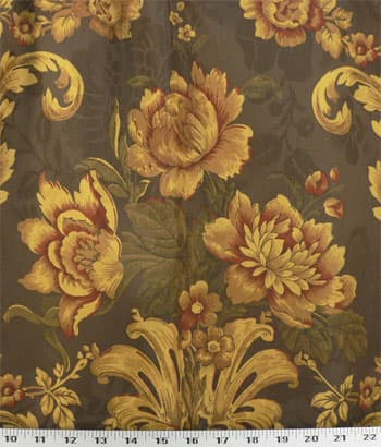 Garden Grandeur Sienna Best Fabric Store Online Drapery and