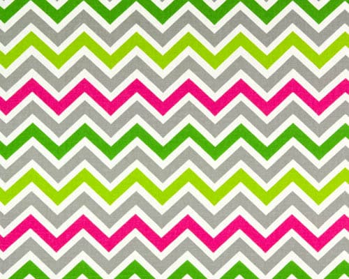Zoom Zoom Chartreuse Fabric Candy Pink Best Fabric Store
