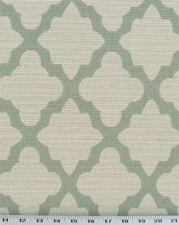 Casablanca Geo Aquamarine Fabric