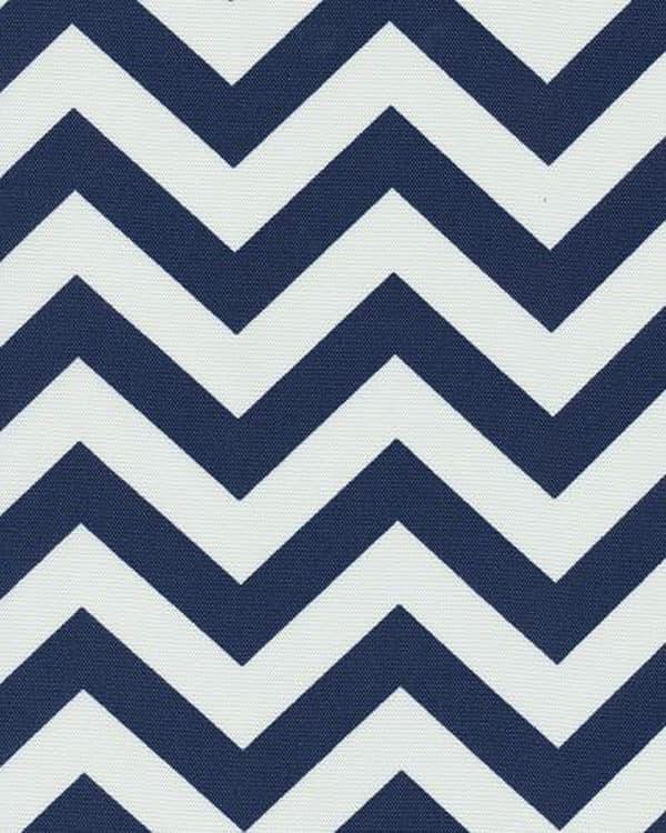 Chevron Navy - Indoor/Outdoor | Best Fabric Store | Online Drapery ...