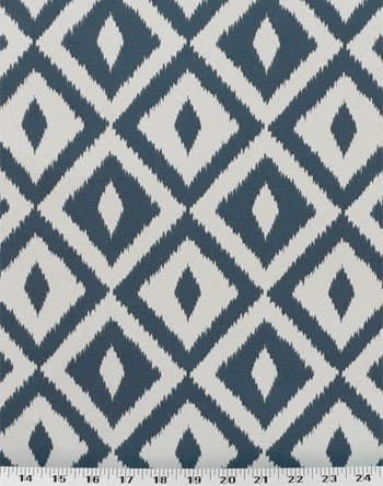 Terrasol Aztec Denim Fabric Indoor Outdoor Best Fabric Store