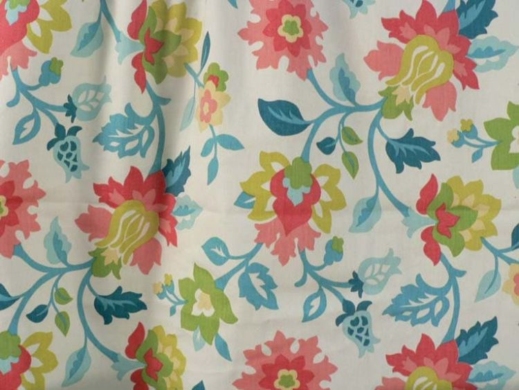 Waverly Set In Spring Capri Fabric, Waverly Outdoor Fabric By The Yard