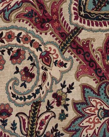 Waverly Plumtree Paisley Jewel Fabric