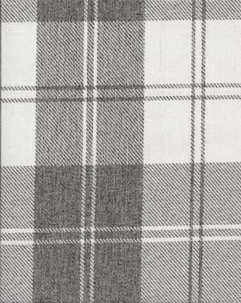 Edinburgh Plaid Grey Upholstery Fabric Best Fabric Store