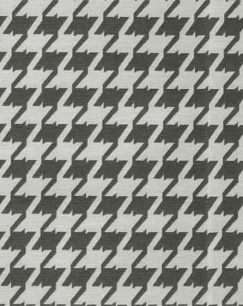 Greek Collection Houndstooth Gray Upholstery Fabric Ships