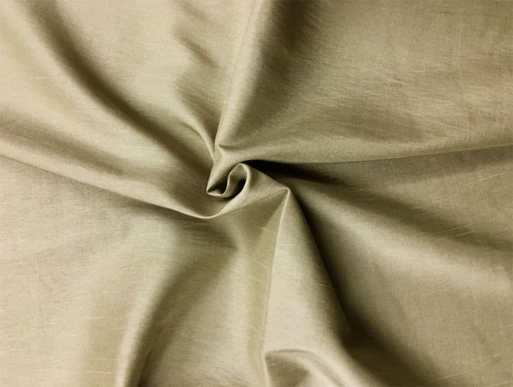 "Faux Silk Like Fabric 60/"" Wide Taffeta sold by y Embroidered scroll 100/% Poly"