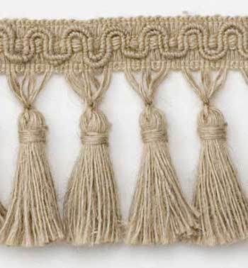 Hemp Fiber Tassel Fringe 3 1 2 Quot Natural Best Fabric Store