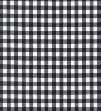 Gingham Fabric Black 1 4 Online Discount Drapery Fabrics And Upholstery Fabric Superstore
