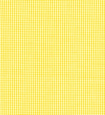 Gingham Fabric Yellow 1 16 Quot Best Fabric Store