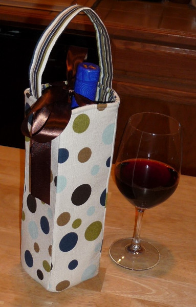 How To Make A Wine Bottle Gift Bag Best Fabric Store Blog