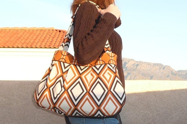 Pleated Lined Handbag Best Fabric Store Blog