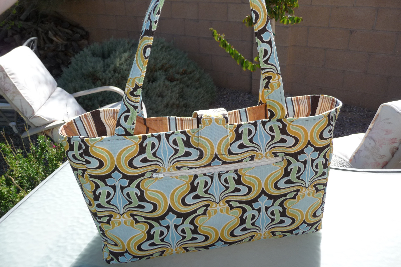 Stylish book bag tutorial (and you can win it!) - Best Fabric Store Blog
