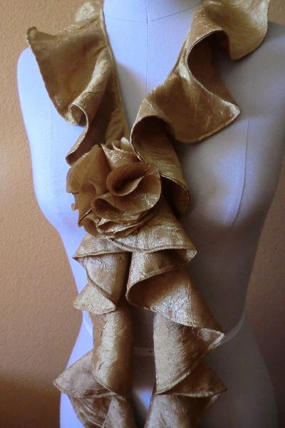Cascading Scarf Tutorial Best Fabric Store Blog