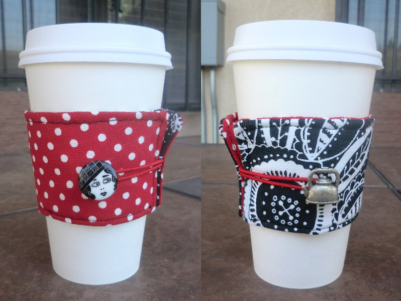 Coffee Cup Cozy Best Fabric Store Blog