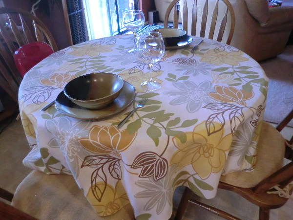 Measure And Sew A Round Tablecloth Best Fabric Store Blog