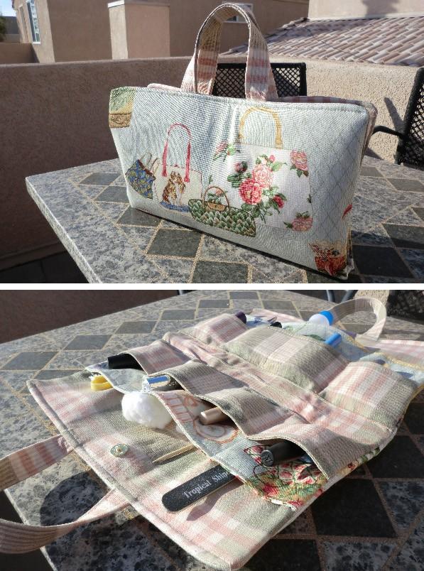 Mani Pedi Tote Tutorial Best Fabric Store Blog