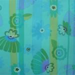 Between Floral Aqua