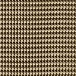 Small Houndstooth Chocolate / Natural