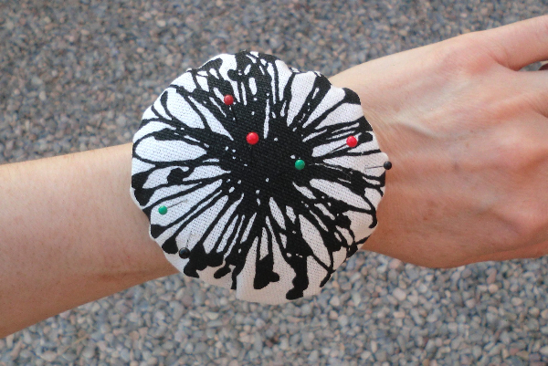 Wrist Pincushion That Sharpens Your Needles Too Best
