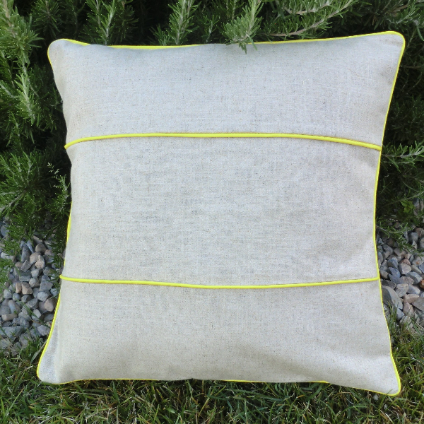 piping striped linen pillow best fabric store blog With best pillow material