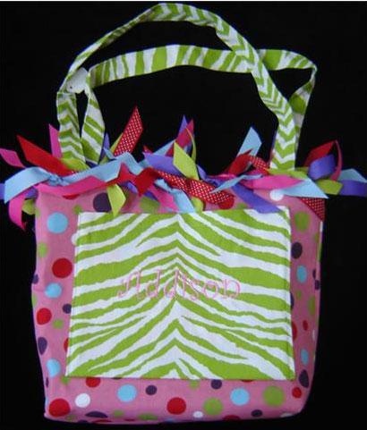 childu0027s ribbon bag by fabric used